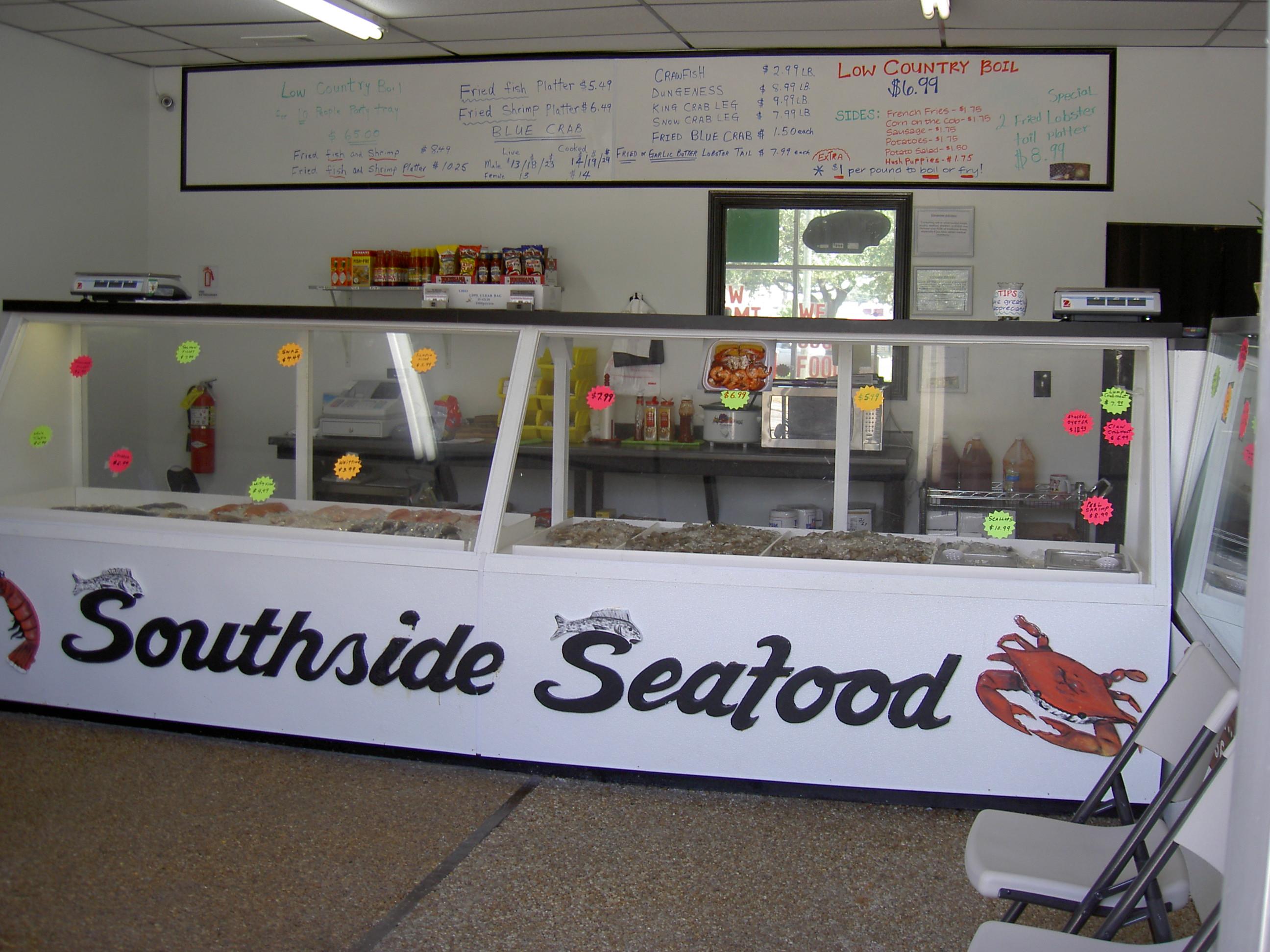 SouthSide Seafood Market Interior